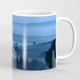 My road, my way. Blue. Coffee Mug