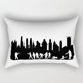 Zombie Control Rectangular Pillow