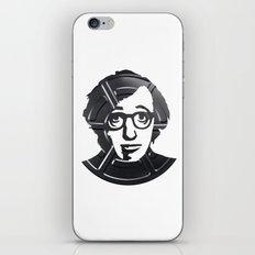 Woody Allen iPhone & iPod Skin