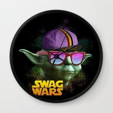 Yoda Swag Wall Clock