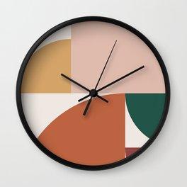 Abstract Geometric 10 Wall Clock