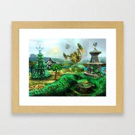 Makeshift Island Framed Art Print