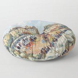 Camille Pissarro The Pont Neuf Floor Pillow