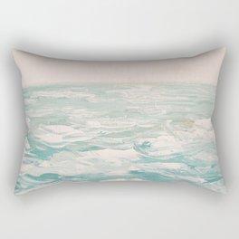 Atlantic Sea Rectangular Pillow