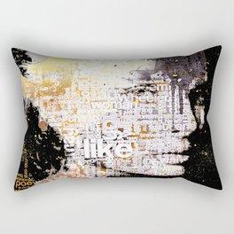 Typo face Rectangular Pillow