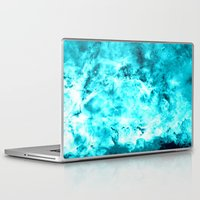 turquoise Laptop & iPad Skins featuring Turquoise by 2sweet4words Designs