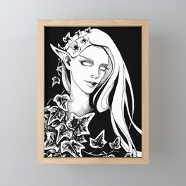 Ivy Elf 1 Framed Mini Art Print