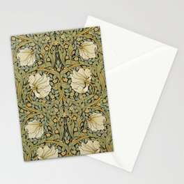 William Morris Pimpernel Art Nouveau Floral Pattern Stationery Cards