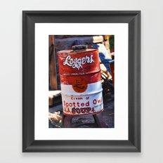 Soup?! Framed Art Print