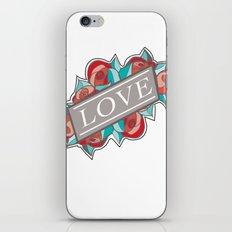 Love & Roses iPhone & iPod Skin