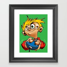 gamer Framed Art Print
