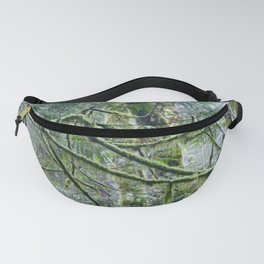 Mossy Branches Fanny Pack