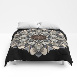 Driftwood Mandala 1 Comforters
