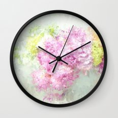 summer thoughts Wall Clock