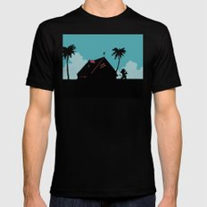Kame House LARGE Black Mens Fitted Tee