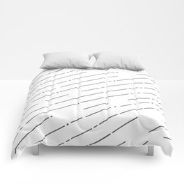 Line Pattern Comforters