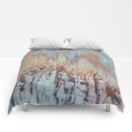 Tattered Tapestry and Restored Life Comforters