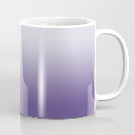 Ombre Ultra Violet Gradient Motif Coffee Mug