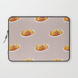 What I miss the most: Food Pattern Laptop Sleeve