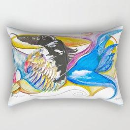 Eagle Heart Rectangular Pillow