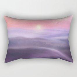 Minimal abstract landscape III Rectangular Pillow