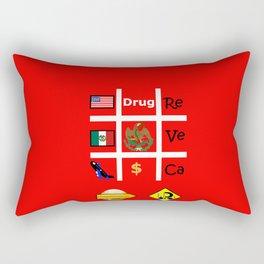 #Drug Rectangular Pillow