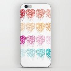 Heart Catcher - Fade iPhone & iPod Skin