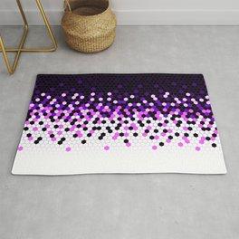 Flat Tech Camouflage Reverse Purple Rug