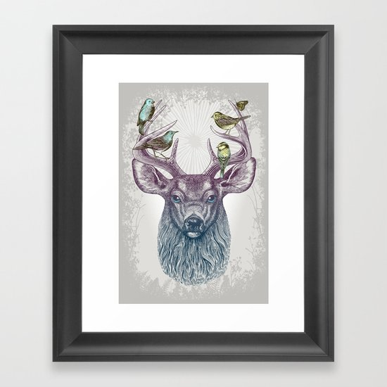 Magic Buck Framed Art Print