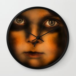 The Vampire stare Wall Clock