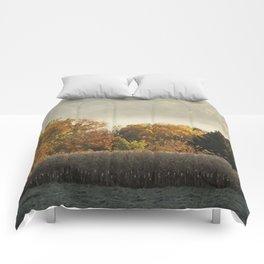 Autumn Cornfield Comforters
