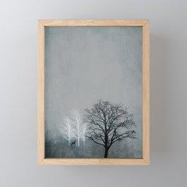 NOVEMBER FOREST Framed Mini Art Print