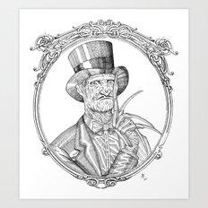 Fancy Freddy Art Print