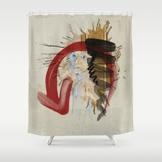 Please Don't Eat My Tacos Shower Curtain