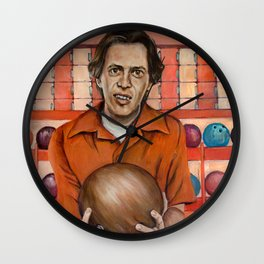Donny / The Big Lebowski / Steve Buscemi Wall Clock