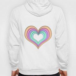 Pastel Heart Hoody