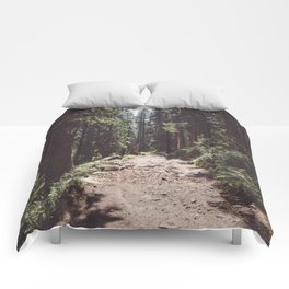 Entering the Wilderness - Landscape and Nature Photography Comforters
