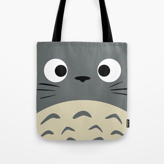 Curiously Troll ~ My Neighbor Troll Tote Bag