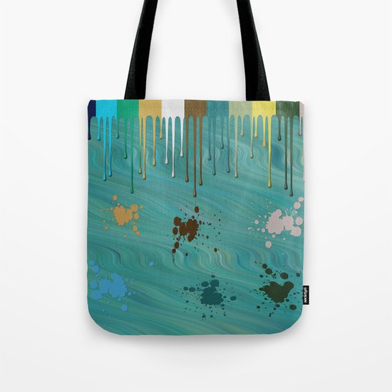 Messy Painter Tote Bag