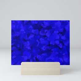 Rich Cobalt Blue Abstract Mini Art Print
