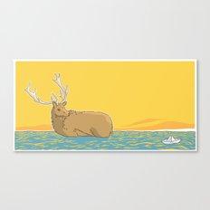 A deer (2) Canvas Print