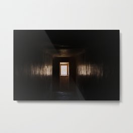 Hallway - Amber Fort Jaipur, India  Metal Print