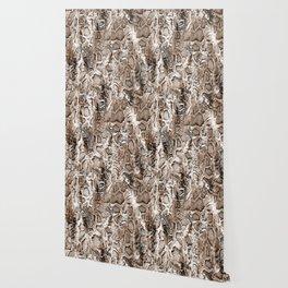 Tan Snakeskin  Wallpaper