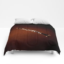 Clarinet Wind Instrument Wall Art Musical Home Decor A069 Comforters