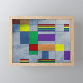 MidMod Rainbow Pride 1.0 Framed Mini Art Print