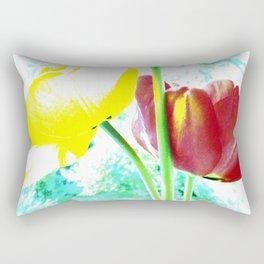 Abstract Of Spring Rectangular Pillow