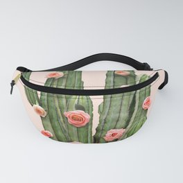 CACTUS AND ROSES Fanny Pack