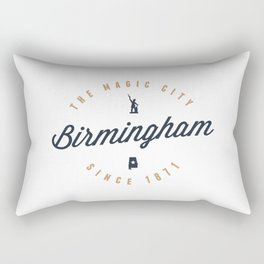 Birmingham, Alabama - The Magic City Rectangular Pillow