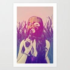 Masked & Dangerous Art Print