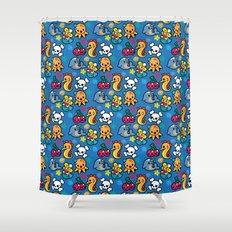 Sea pattern 01 Shower Curtain